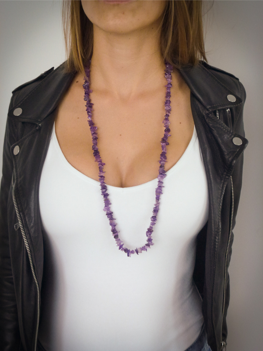Beautiful Amethyst Necklace