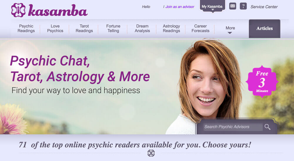 kasamba psychics review