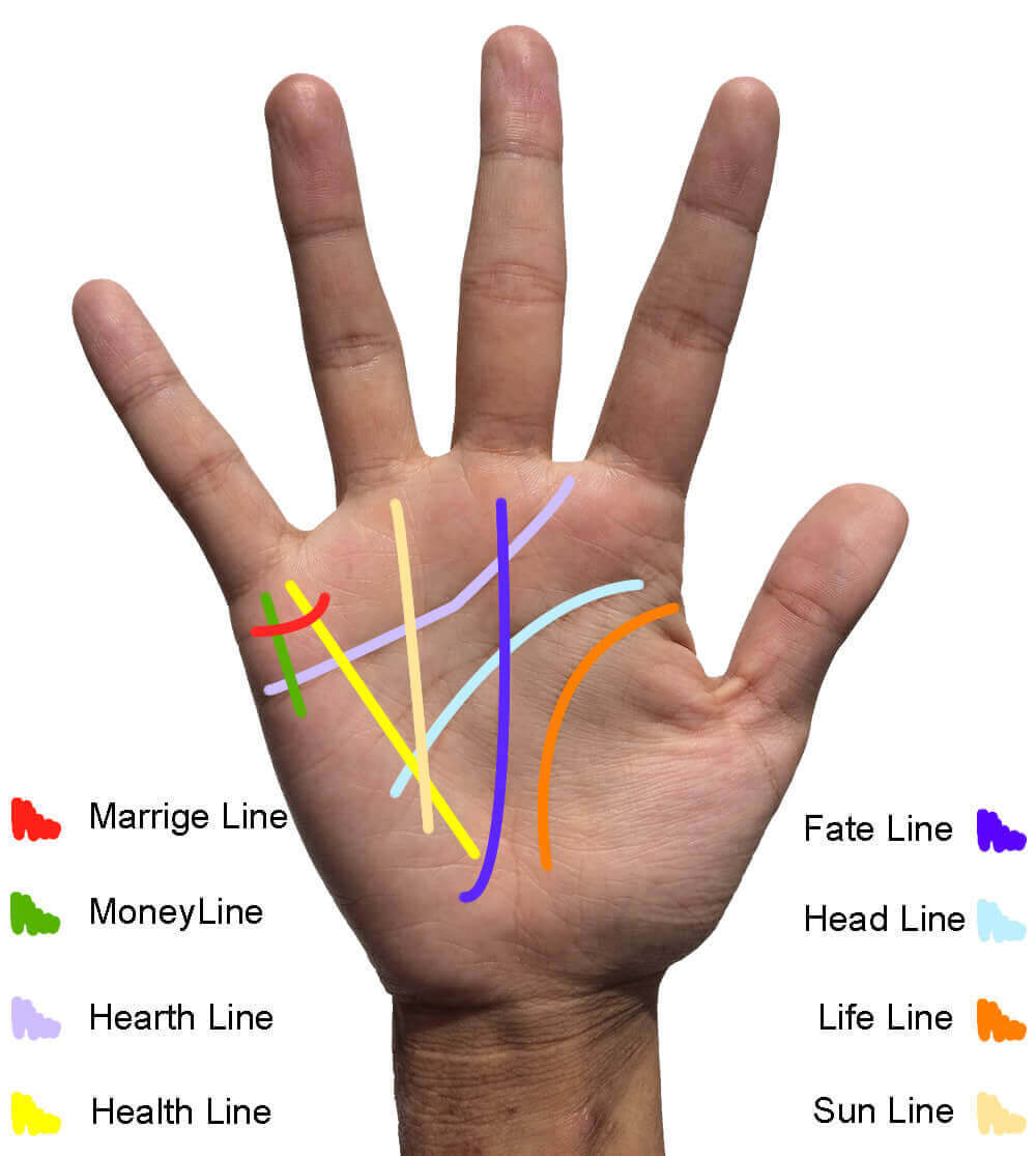 how to read your palm lines