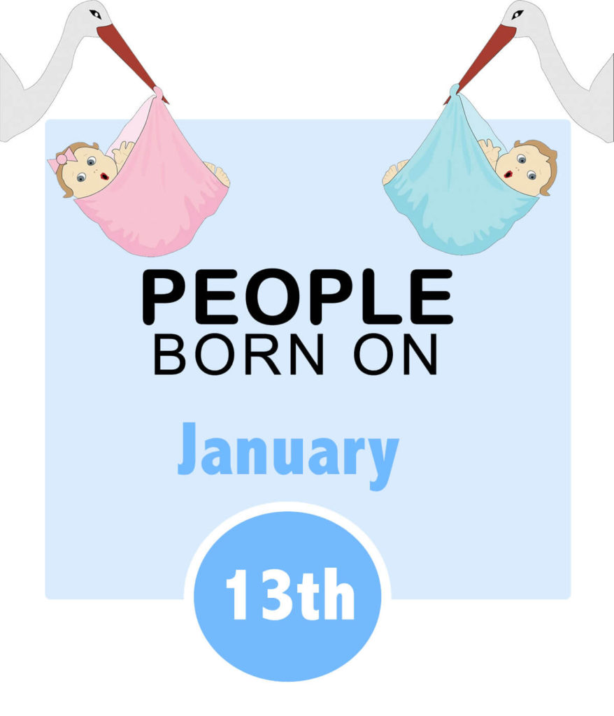 Numerology people born on january 13th