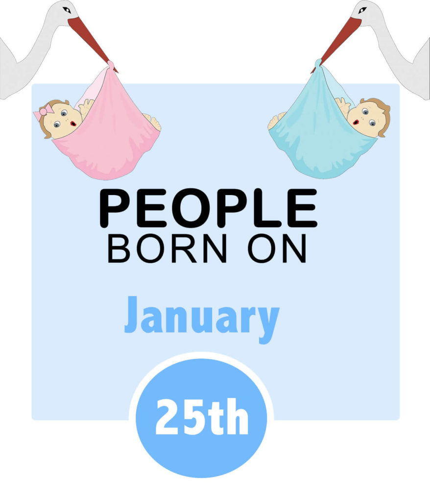 Numerology people born on january 25th