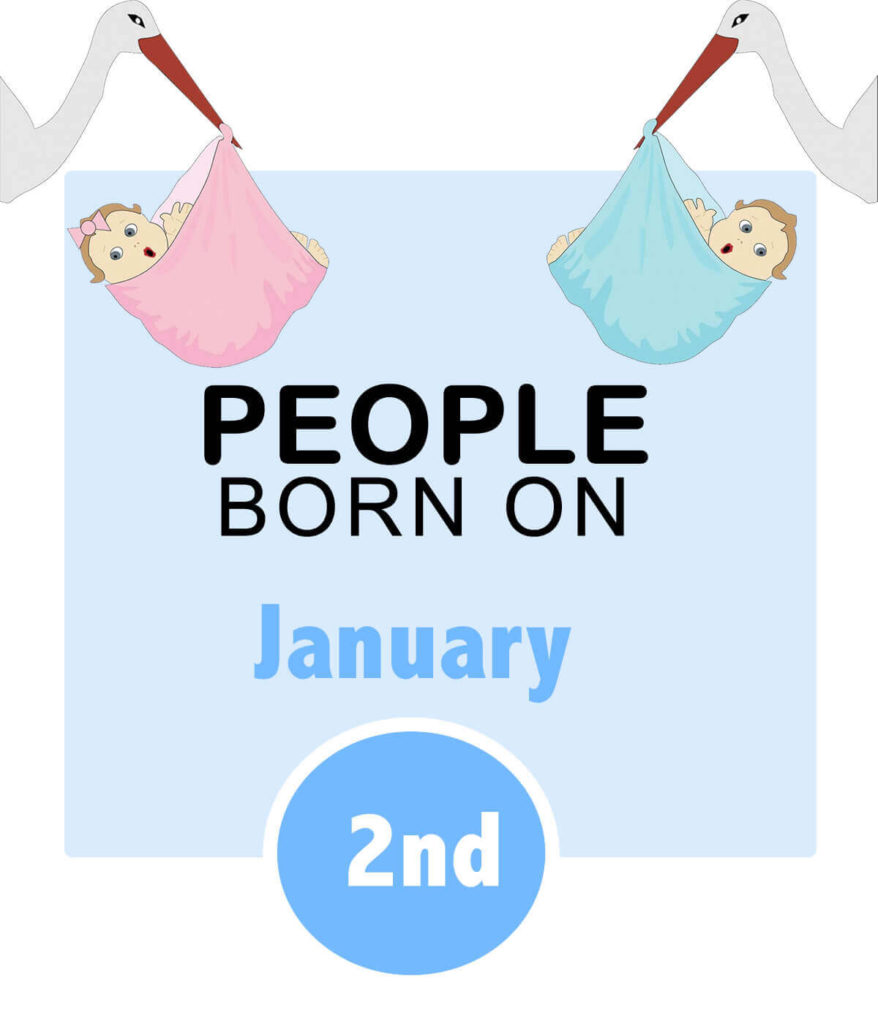 Numerology people born on january 2nd
