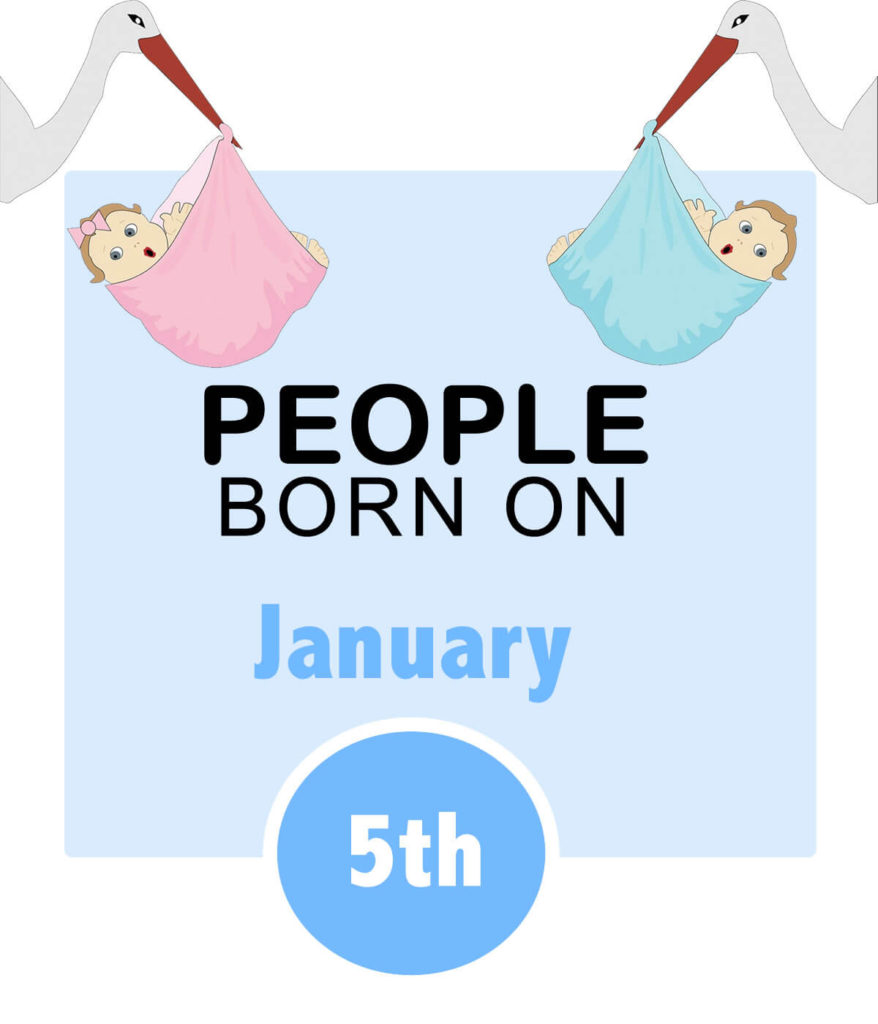 Numerology people born on january 5th
