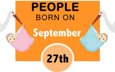 Numerological Personality Traits of People Born on September 27th