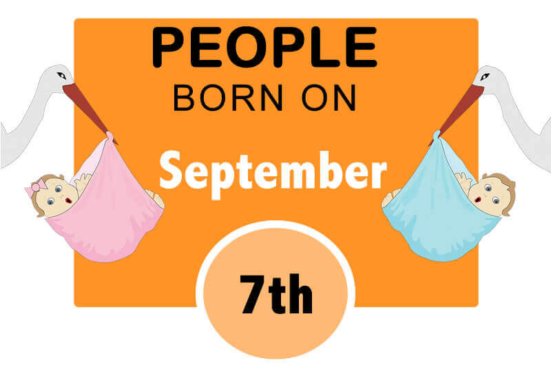 Numerological Personality Traits of People Born on September 7th