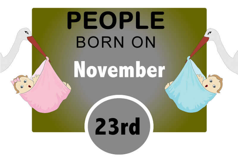 Numerological Personality Traits of People Born on November 23rd