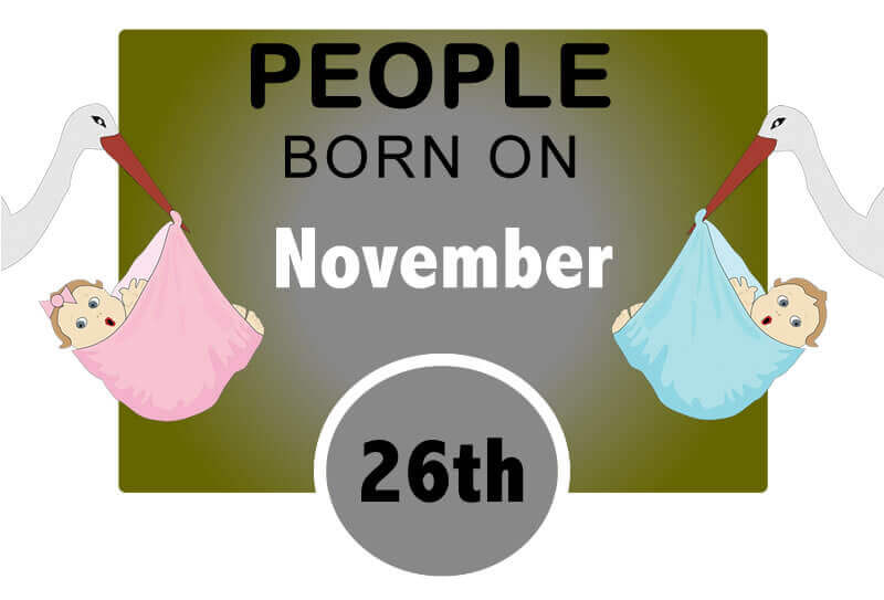 Numerological Personality Traits of People Born on November 26th