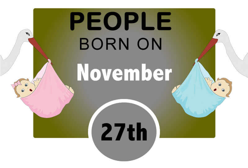 Numerological Personality Traits of People Born on November 27th
