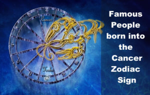 Famous People born into the Cancer Zodiac Sign