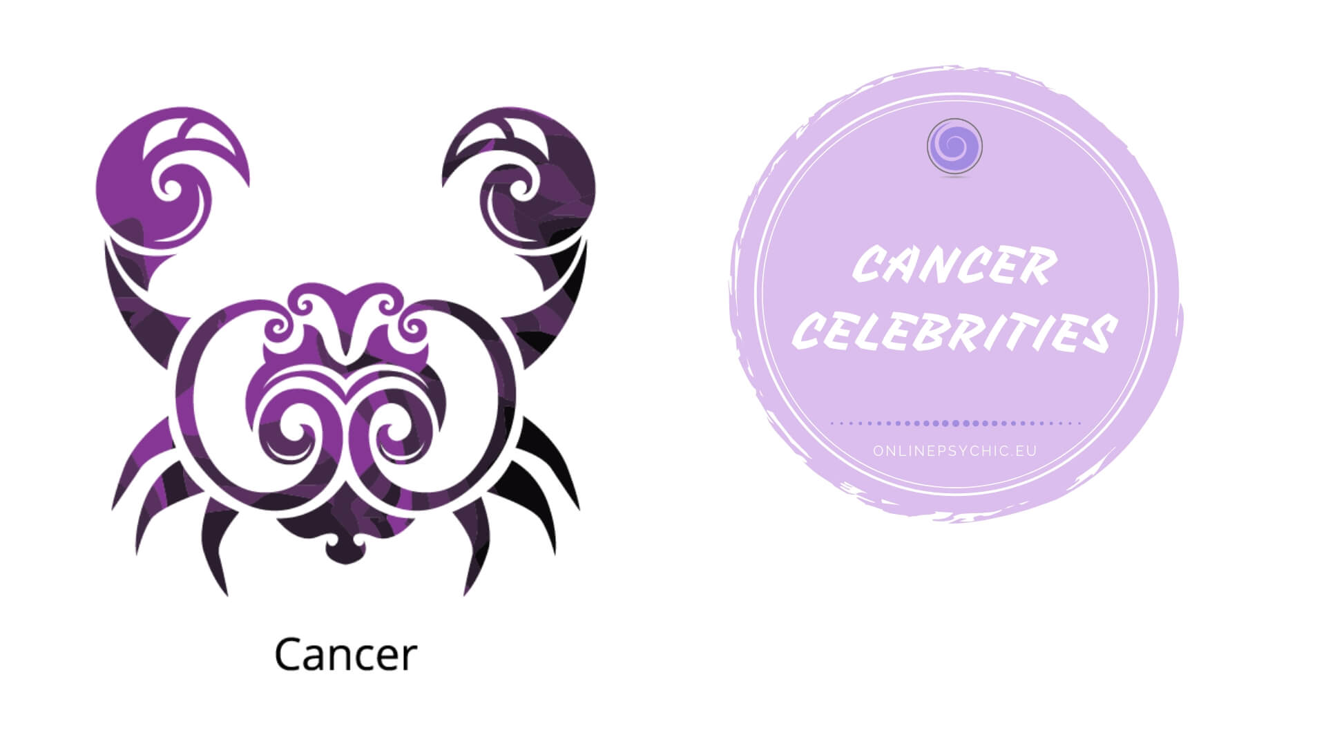 famous cancer zodiac