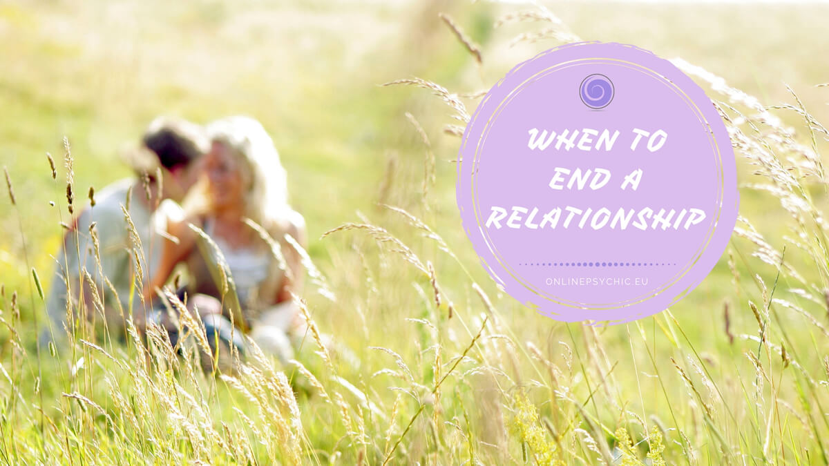 when to end a relationship