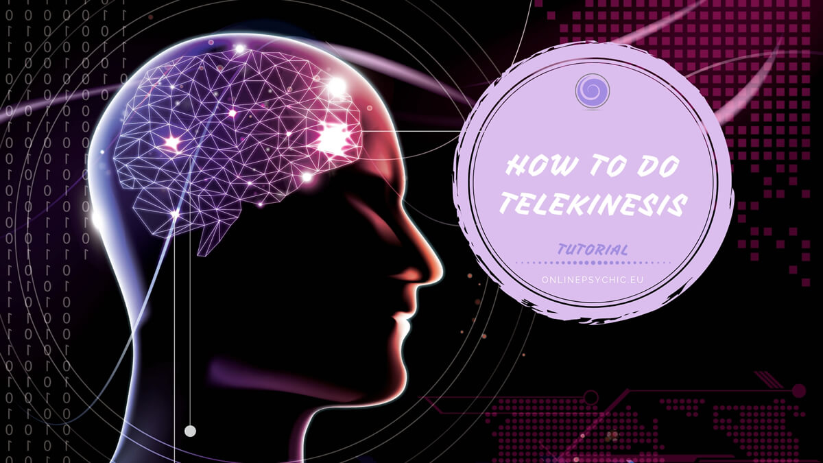 How to do telekinesis - tutorial