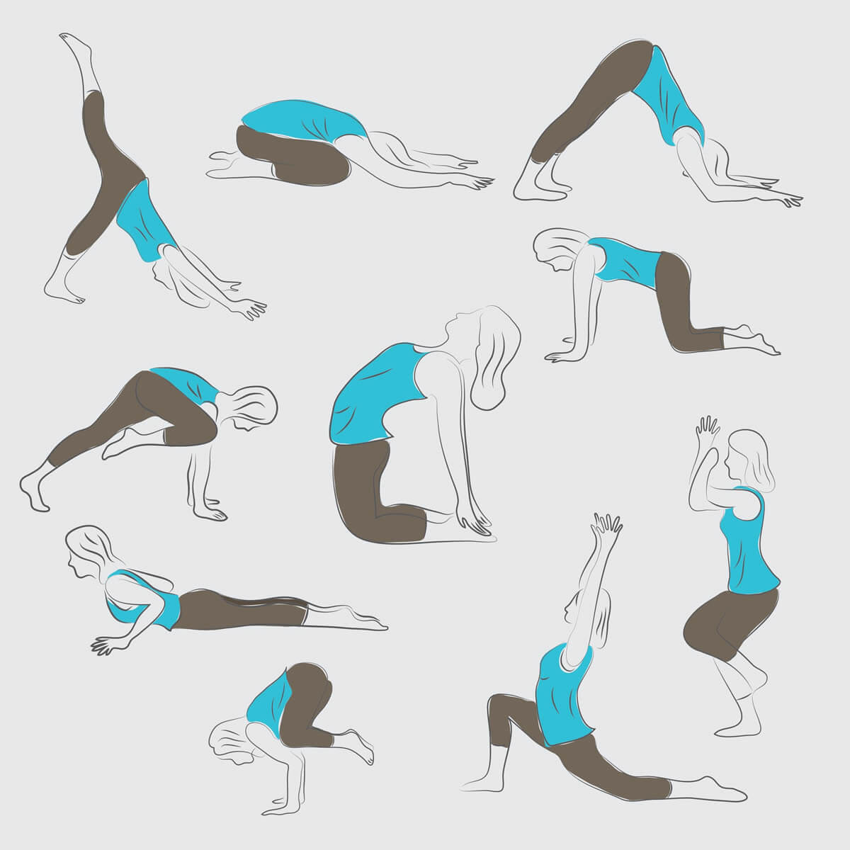 yoga challenge pictures