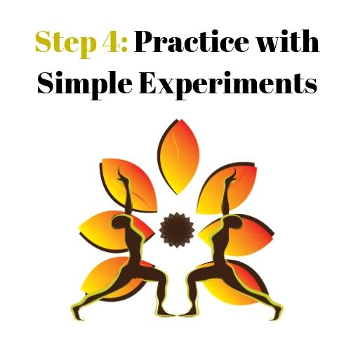 Step 4: Practice with Simple Experiments