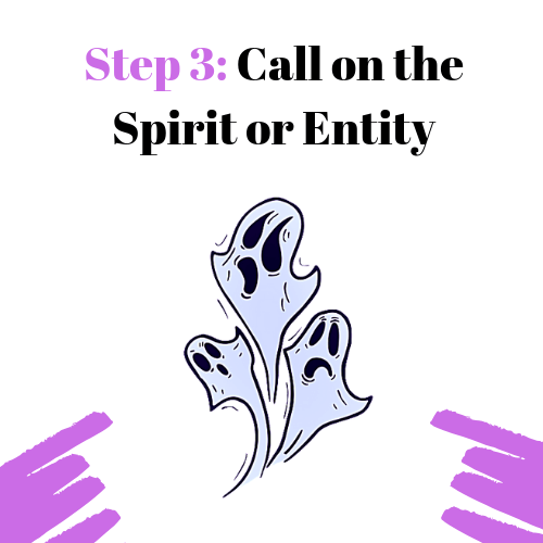 Step​ 3: Call on the Spirit or Entity