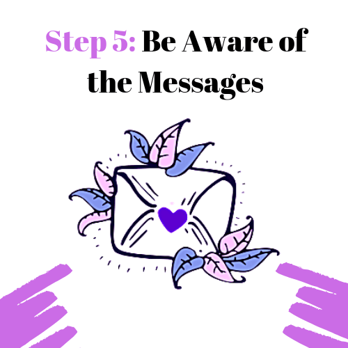 Step 5: Be Aware of the Messages