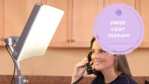 Carex light therapy lamp
